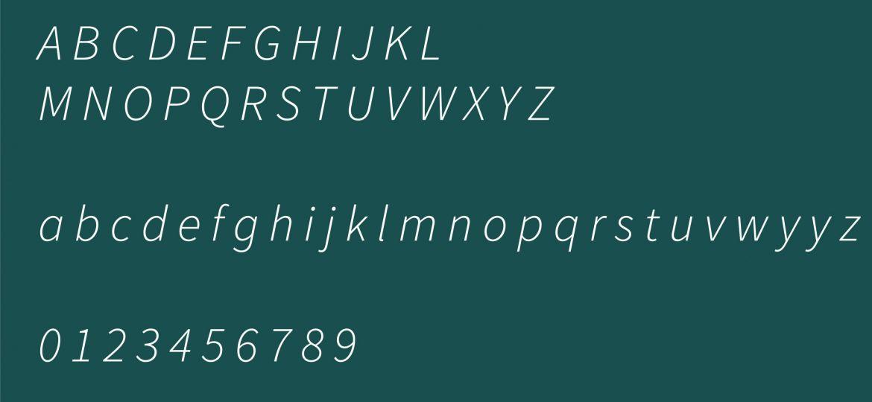 Typographie agence de communication Dijon EcloLINK