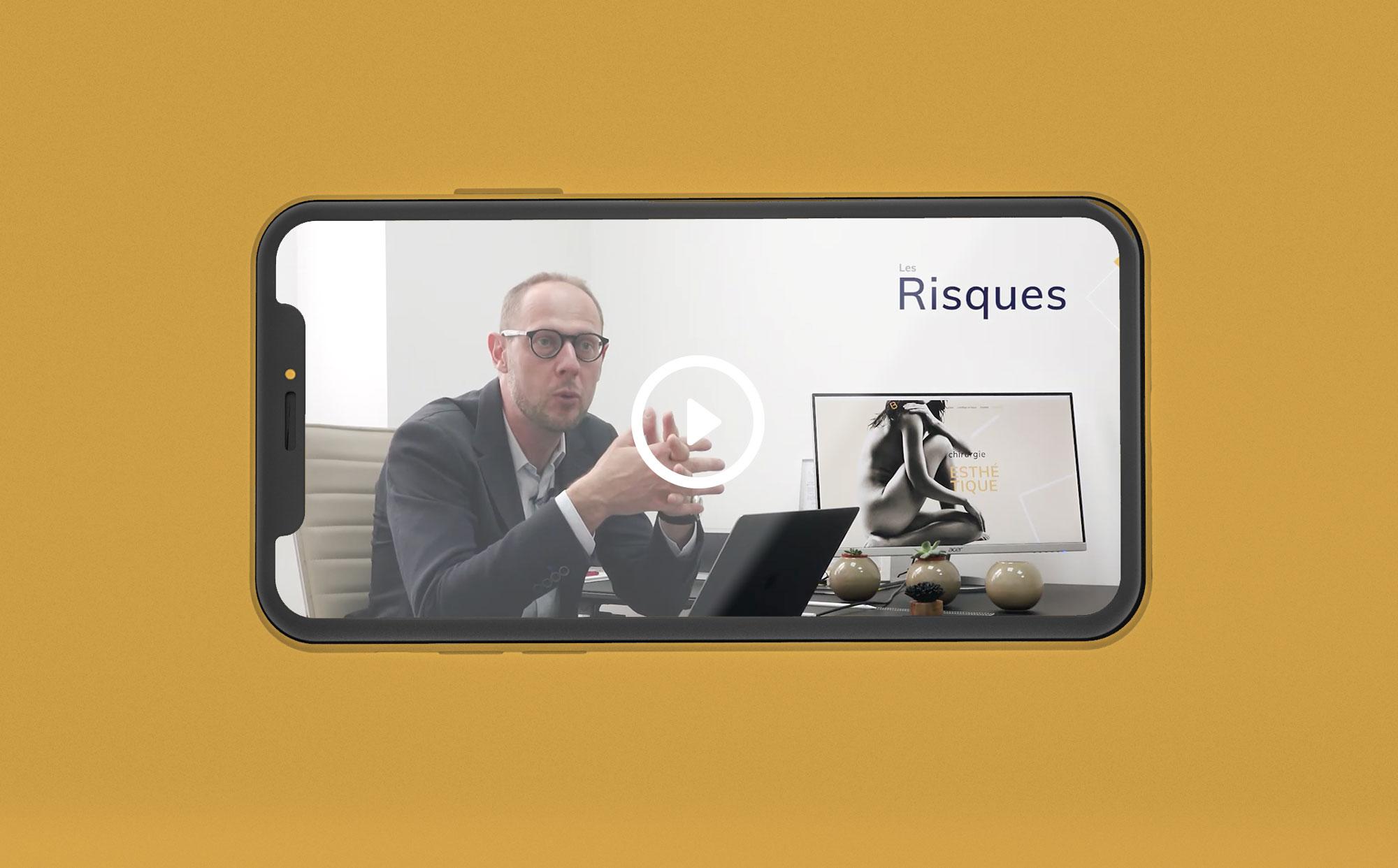 eclolink-agence-web-marketing-dijon-reference-client-dr-bonnet-mockup-video