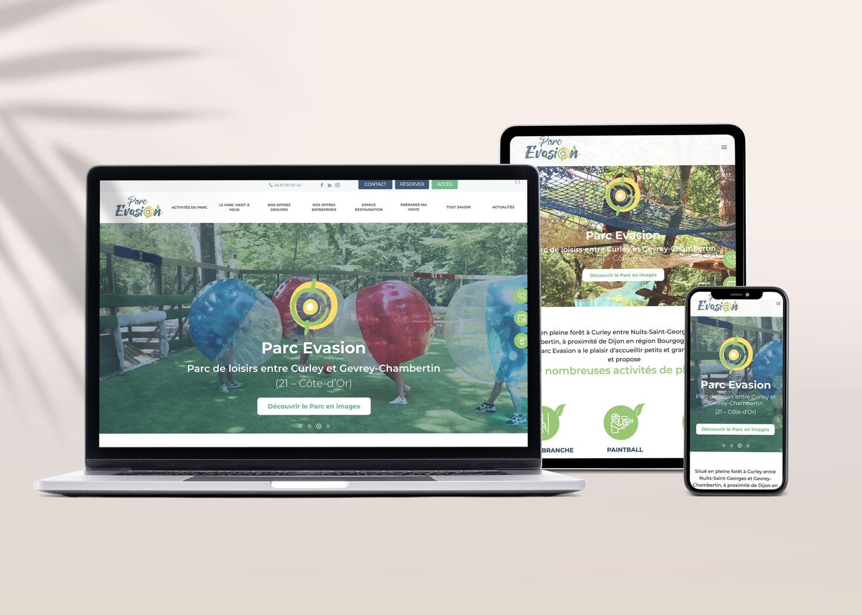 eclolink-agence-web-marketing-dijon-reference-client-parc-evasion-mockup-web-responsive